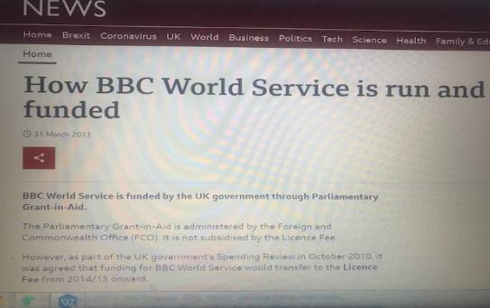 BBC国际频道的三个小秘密:入职须接受军情五处审查
