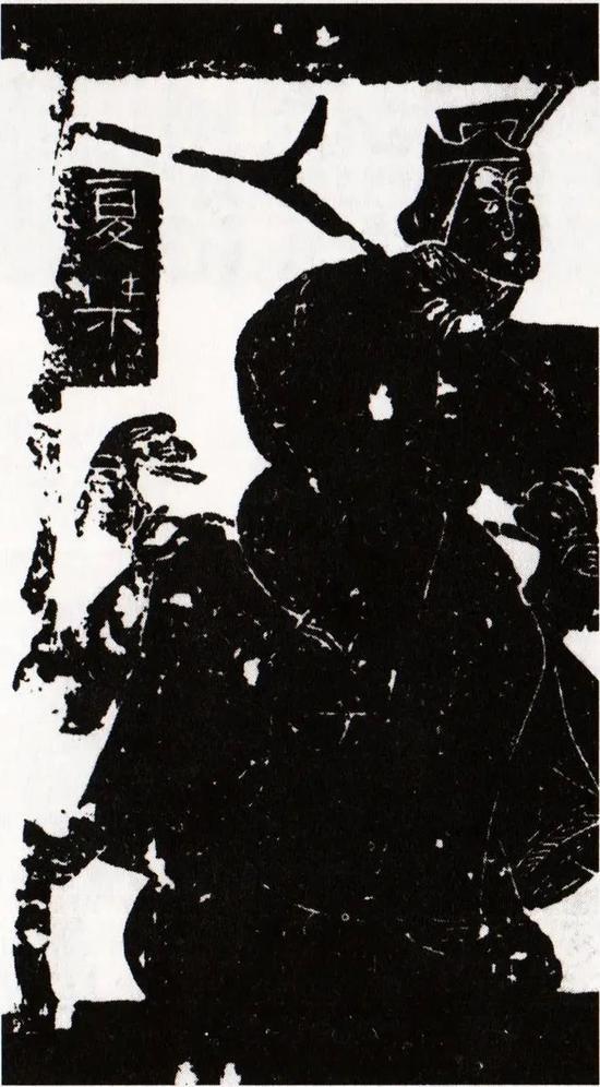 夏桀 武梁祠中的石刻画像