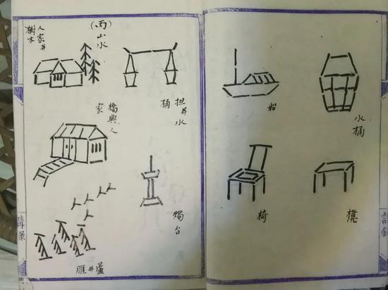 110年前川大学霸笔记 毛笔字和美术功底绝了