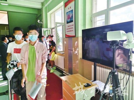 高考第一天,吉林省109461名考生走进考场