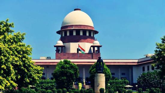 印度最高法院建筑(图源:印媒)