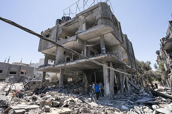 美国务卿:巩固巴以停火协议,但不推动和平谈判
