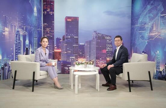 """""""深圳博阳好易信息技术""""总经理何萦做客《崛起中国》"""