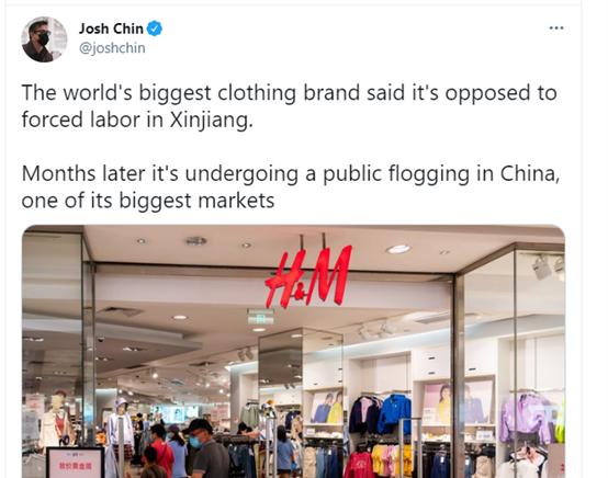 那些表示会使用新疆棉花的企业,被盯上了