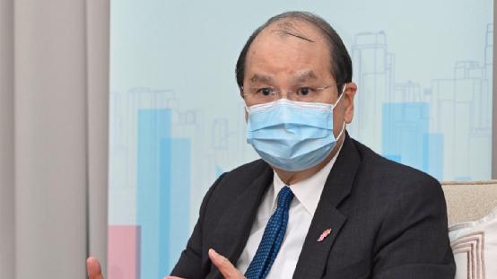 选择做召集人或再竞选香港特首?梁振英回应
