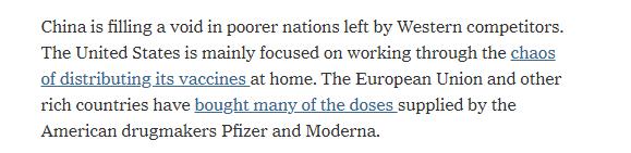 """环球深观察丨全球疫苗分配进行时 为何有人发出""""道德沦丧""""的怒吼"""