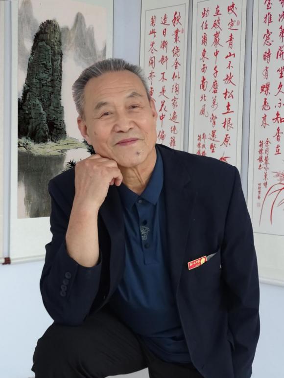 """""""时代楷模 大国风范"""" 两会推荐艺术名家——杨新平 、孙晓云"""
