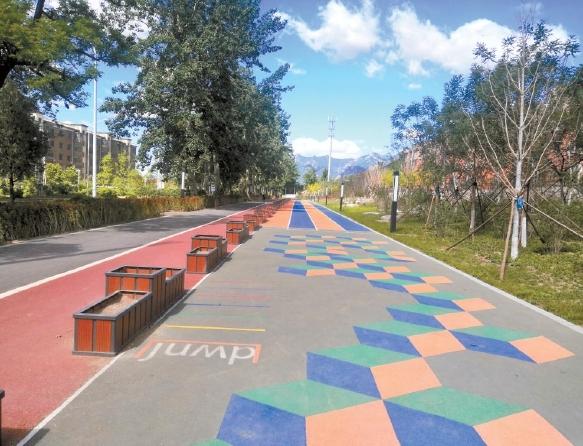 全长29公里 新建34个口袋公园 营造多处景观节点 冬奥延庆赛区景观廊道月底前竣工