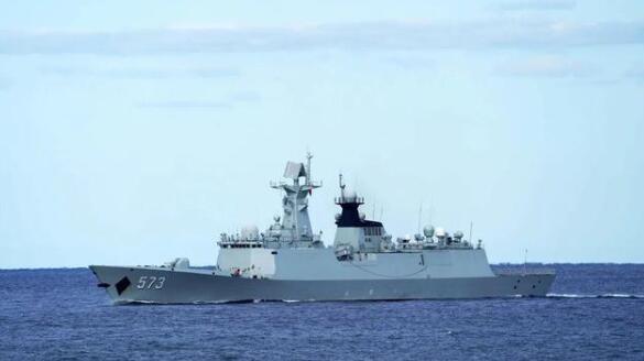 """中俄""""海上联合-2021""""联合军事演习开始"""
