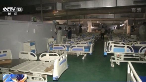 """寺庙改""""方舱""""...印度多地增加隔离设施应对疫情"""