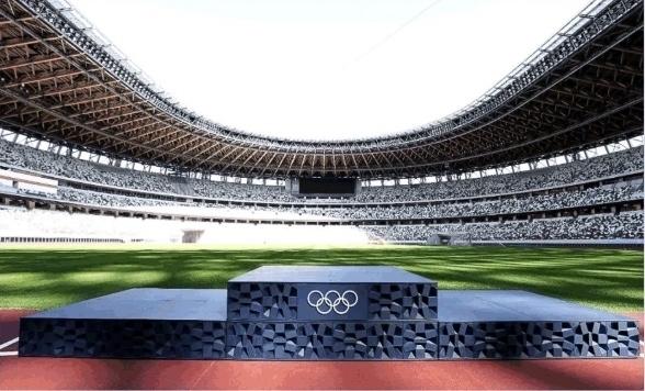 东京奥运会五环LOGO全部由济南邦德激光切割设备雕制而成