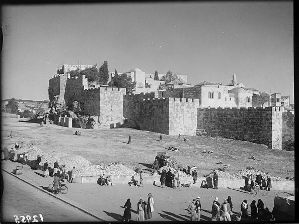 △1940年代的耶路撒冷老城图片来自网络