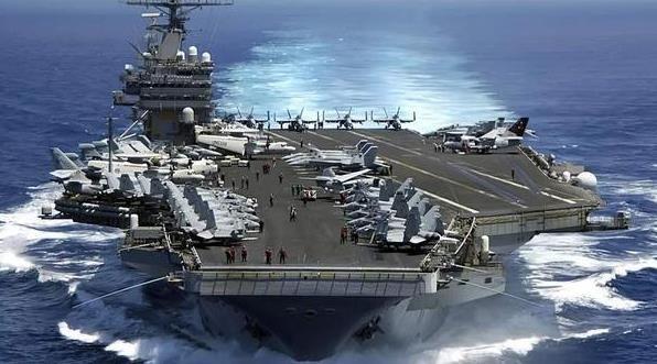 西太平洋出现美航母真空 美11艘航母在干嘛?