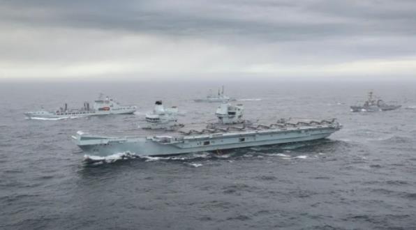 英国航母听好了:中国将用一切必要手段应对