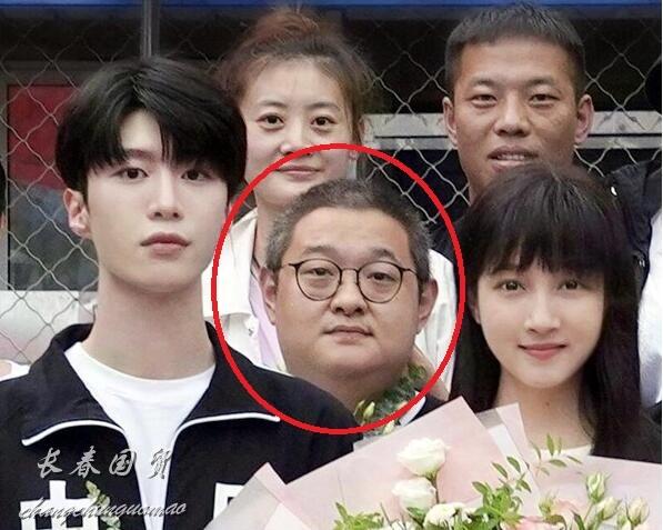 傅彪30岁儿子近照曝光 酷似爸爸已成为优秀导演
