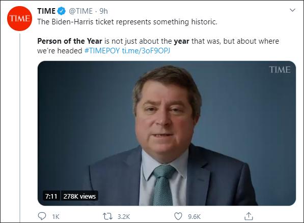 《时代》追加推文