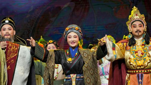 赣剧《文成公主》成功首演 两代赣剧人的演绎传承