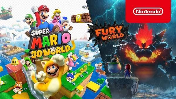 Fami通一周游戏销量榜 马里奥3D+狂怒世界夺魁