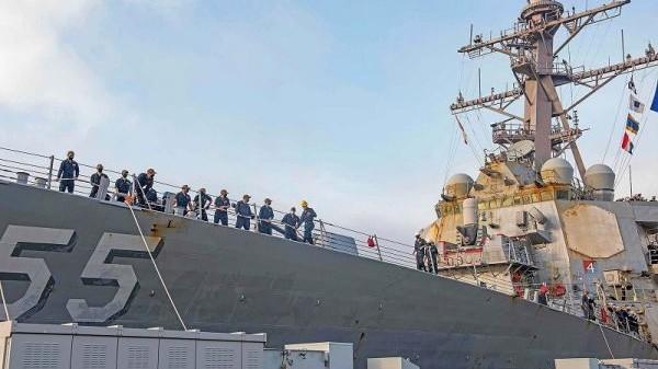 美海军建设用力过猛酿苦果,多艘舰艇存在问题