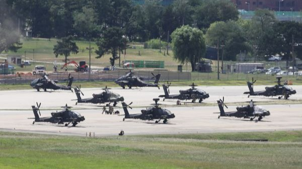 """外媒:驻韩美军披露""""柚木刀""""军演威慑朝鲜"""