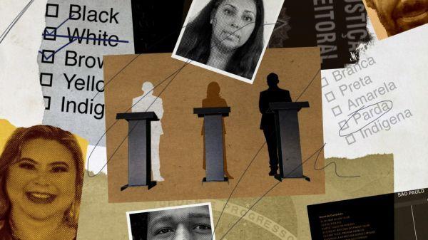 2020年,巴西数万名政界人士宣布改变种族身份。(美国有线电视新闻网网站)
