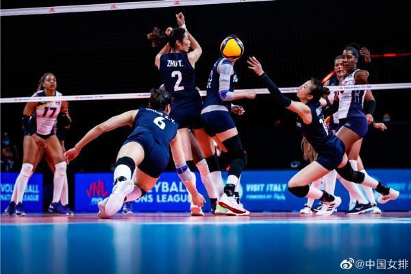 中国女排3-1多米尼加 斩获三连胜