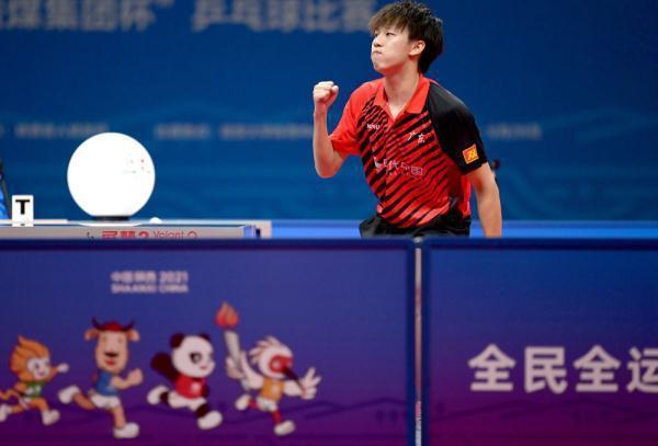 樊振东逆转战胜马龙 率广东队夺乒乓男团冠军