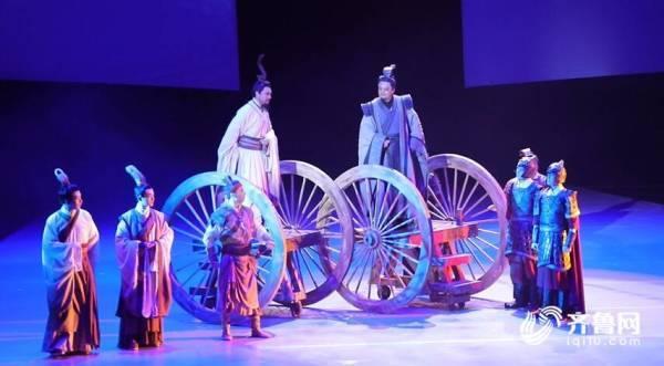 一场跨越2500多年的时空对话——张继钢导演作品,山东重点舞台话剧《孔子》巡演在曲阜盛大首演