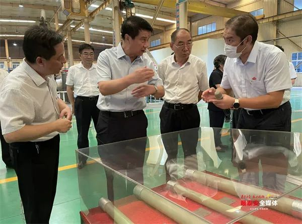 泰安市委书记崔洪刚:全力服务企业发展和项目建设,坚定不移推进经济高质量发展