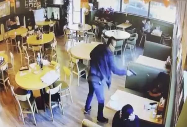 美国华人男女餐厅被枪杀:凶手确认两人死亡后离开
