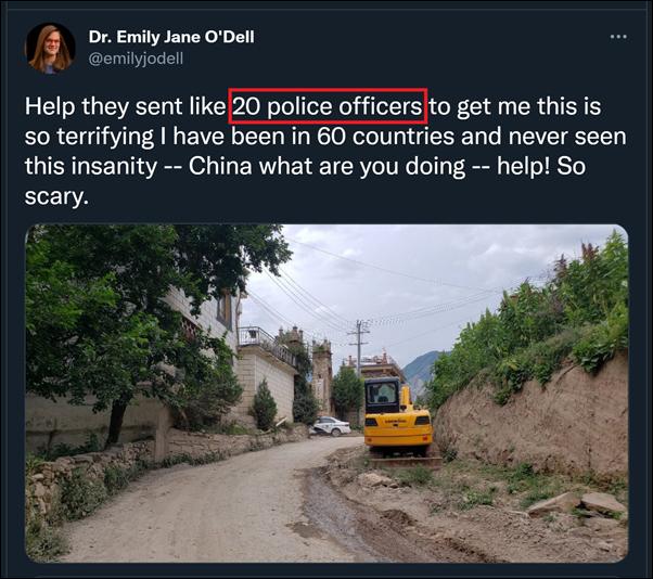"""造谣""""被中国警察绑架"""",女外教造谣抹黑中国被处限期出境"""