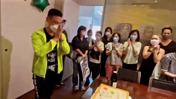 张学友60岁生日庆生现场曝光 粉丝疑豪掷500万应援