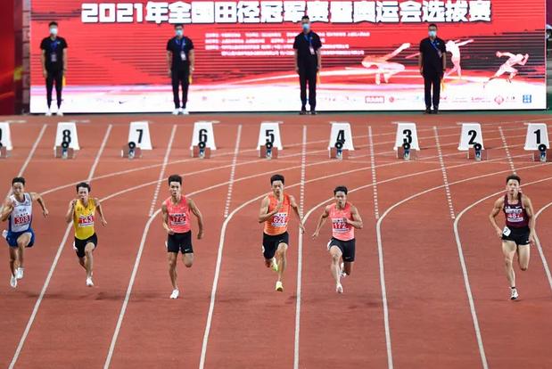 苏炳添第七次突破10秒大关,创今年国内最佳成绩