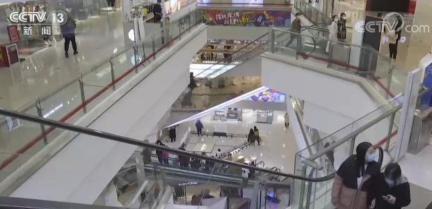 河北石家庄商业综合体有序恢复正常经营 引导市民有序进场购物