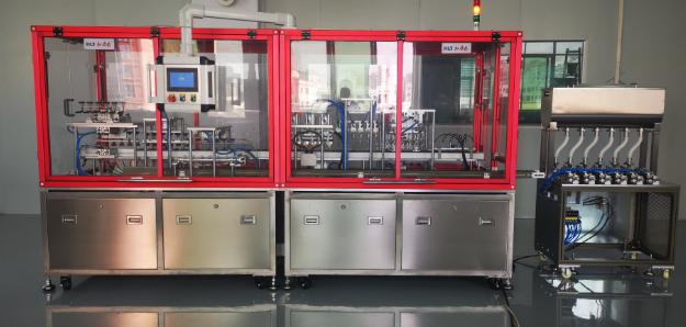 和力泰杯型灌装机系统化升级 精密助力日化生产线升级