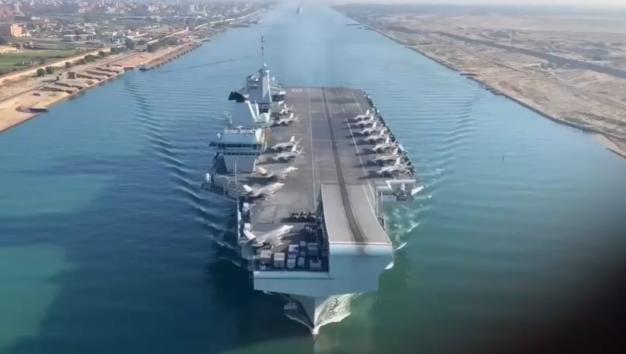 英航母和日自卫队想搞两次演练