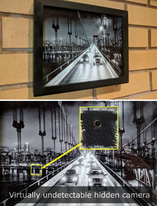 17个针孔摄影机的照片 细思极恐!