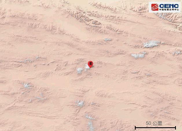 青海玉树州治多县发生4.0级地震 震源深度8千米