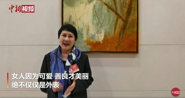 张凯丽谈女性容貌焦虑:女人因为可爱善良才美丽