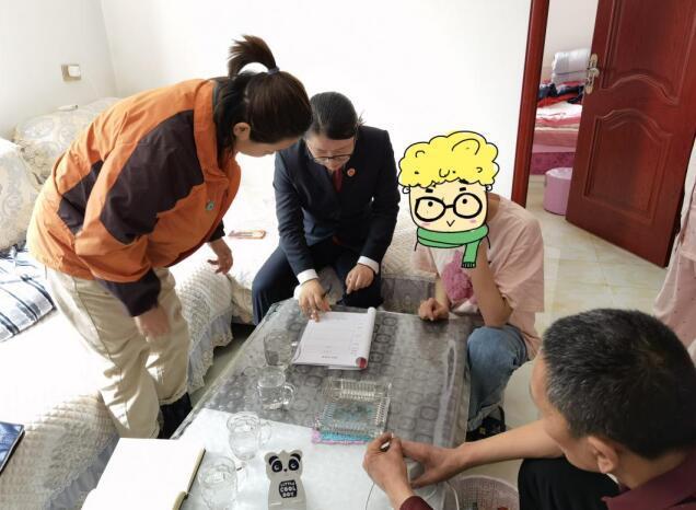 交城检察官邀专业社工家访帮教未成年人