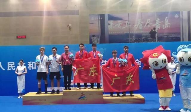 第十四届全国学生运动会已在青岛落幕 广东代表团总奖牌数为113枚