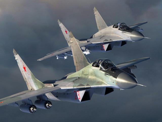 看图学飞行,3分钟掌握米格-29
