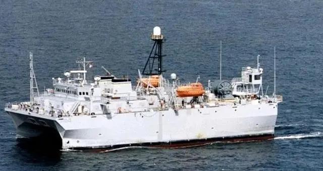 警惕!这艘美国船赖在西沙一个月 危害比战舰大!