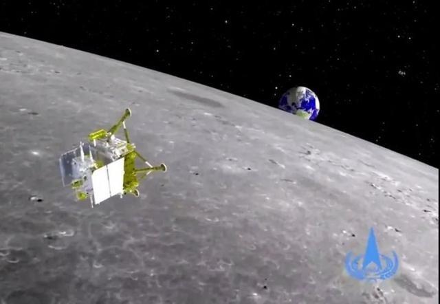 嫦娥五号成功落月 袅袅仙子月球凌空漫步婀娜多姿