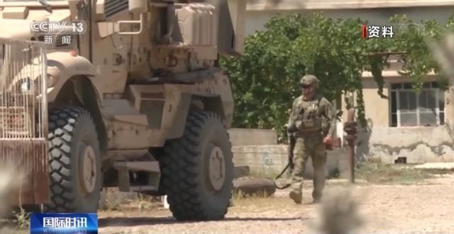 """叙媒:美军再度将""""偷来的小麦""""运出境"""