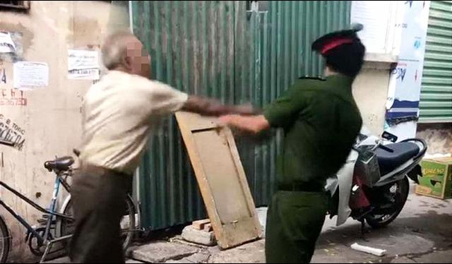 越南79岁老人不戴口罩外出还袭警 或被起诉