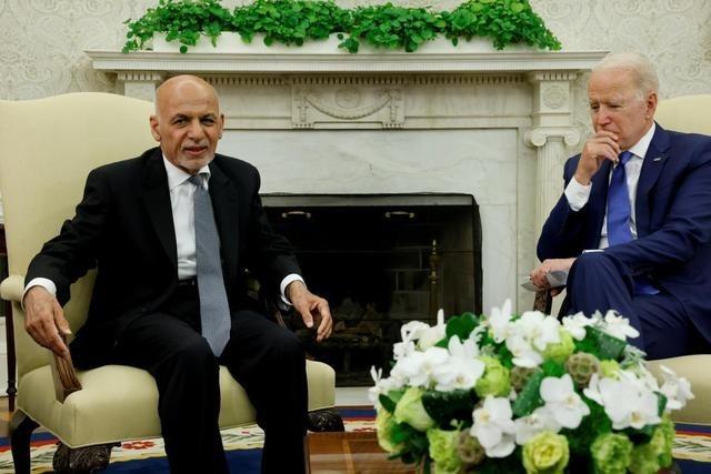 拜登与阿富汗前总统最后通话曝光