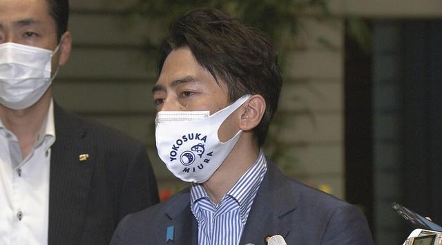 小泉进次郎在采访时留下眼泪 图源:日媒