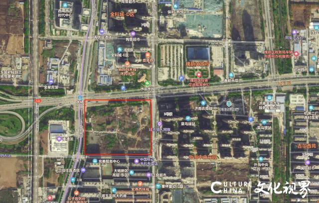 网传万达广场将落户济南槐荫区,初步选址在麦德龙东侧
