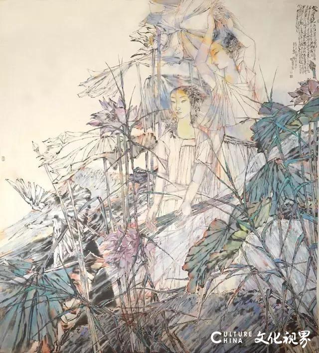 """一生的钟爱,创作的源泉——著名画家宋丰光""""画说""""故乡淄博桓台马踏湖"""